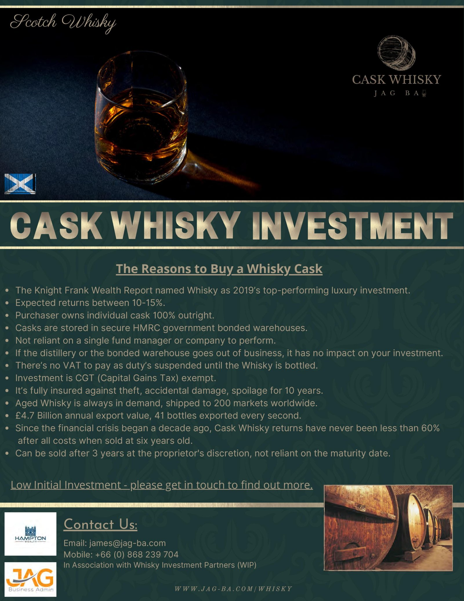 Cask Whisky Investment
